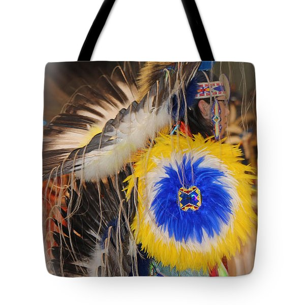 Head Dress Tote Bag by Audrey Robillard
