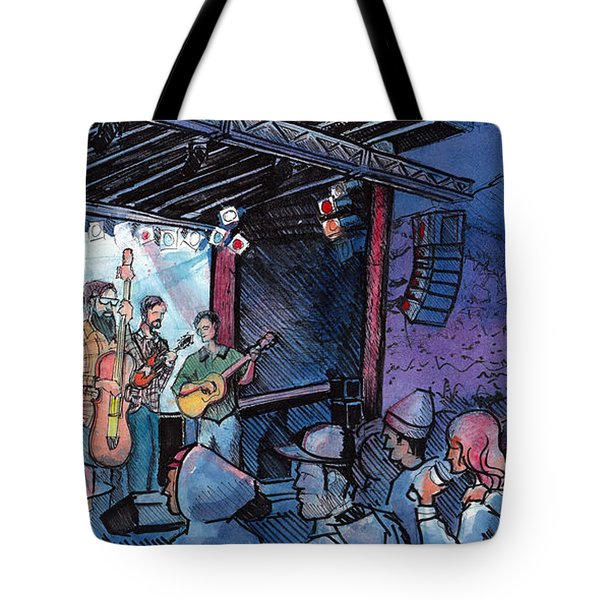 Head For The Hills At The Mish Tote Bag by David Sockrider