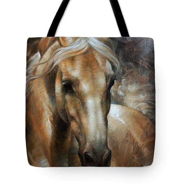 Head Horse 2 Tote Bag by Arthur Braginsky