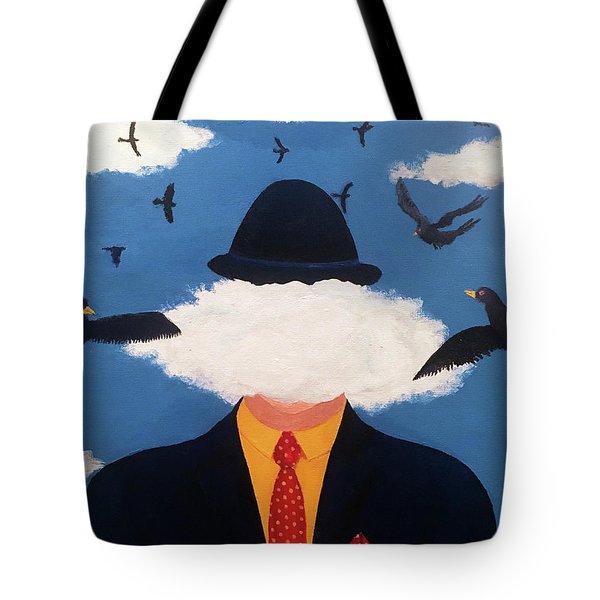 Head In The Cloud Tote Bag