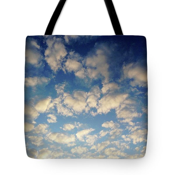 Head In The Clouds- Art By Linda Woods Tote Bag