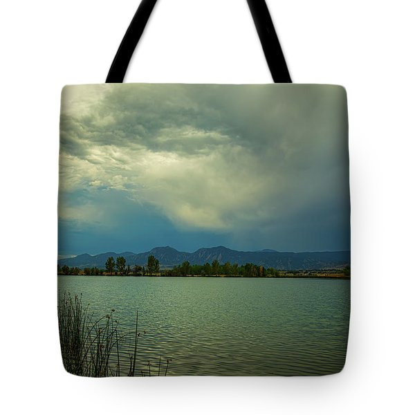 Tote Bag featuring the photograph Head In The Clouds by James BO Insogna