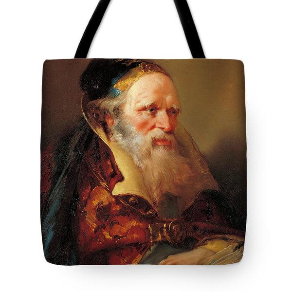 Head Of A Philosopher Tote Bag