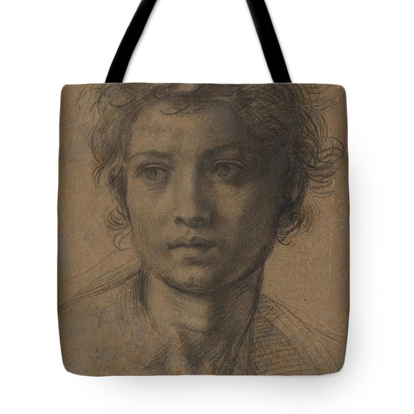 Head Of Saint John The Baptist Tote Bag