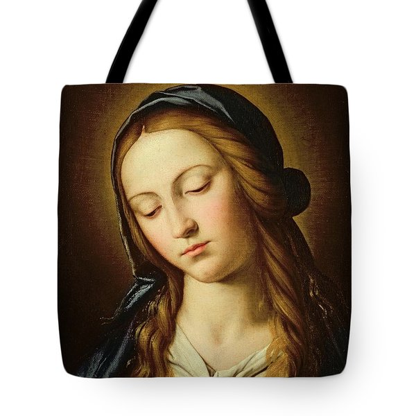 Head Of The Madonna Tote Bag by Il Sassoferrato