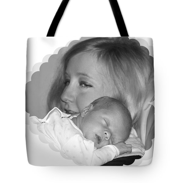 Head On My Shoulder Tote Bag by Ellen O'Reilly