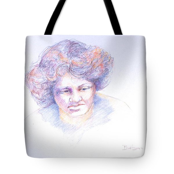 Head Study 4 Tote Bag