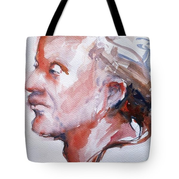 Head Study 5 Tote Bag