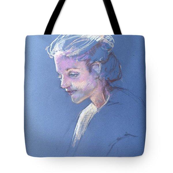 Head Study 6 Tote Bag