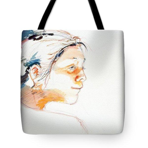 Head Study 9 Tote Bag