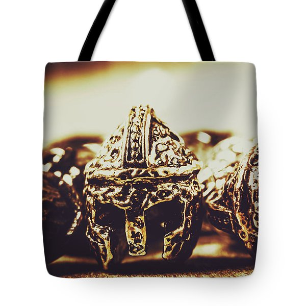 Headdress Of Medieval Antiquity Tote Bag