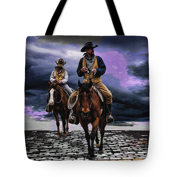 Headed Home Tote Bag