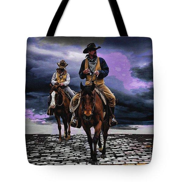 Headed Home Tote Bag