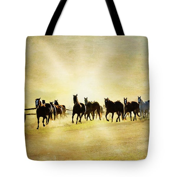 Headed Home Ll Tote Bag