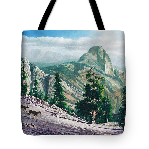 Heading Down Tote Bag