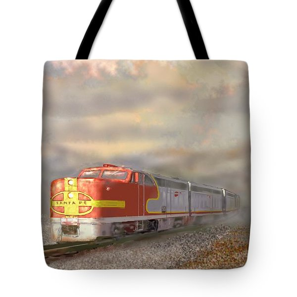 Heading East Tote Bag by Kerry Beverly