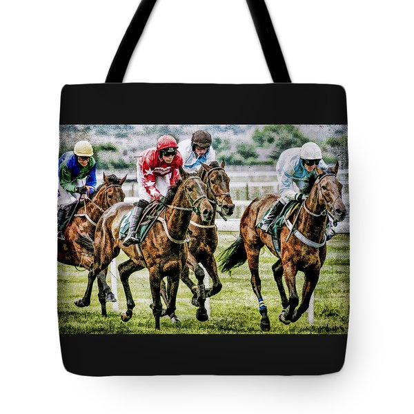 Tote Bag featuring the photograph Heading For Home by Brian Tarr