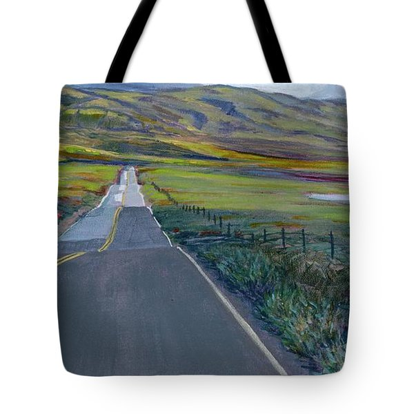 Heading For The Hills Tote Bag