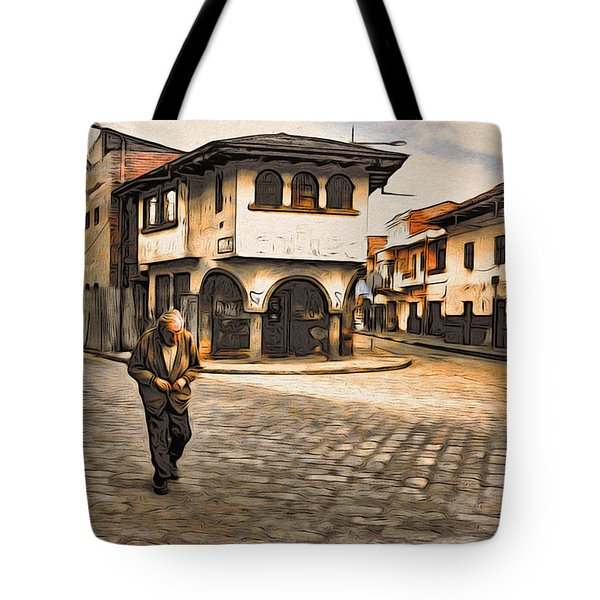 Heading Home Alone Tote Bag