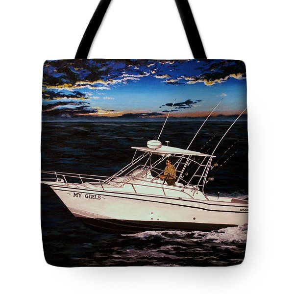 Heading Home Tote Bag