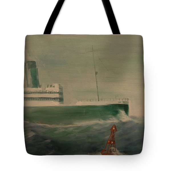 Heading In Tote Bag by Christopher Jenkins