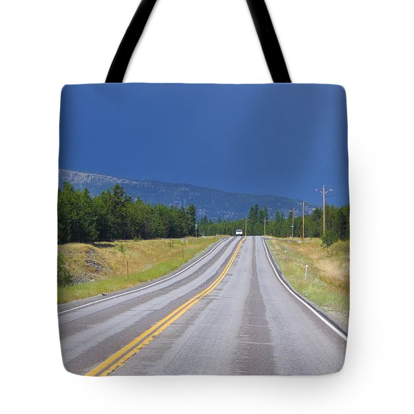 Heading Into The Storm Tote Bag