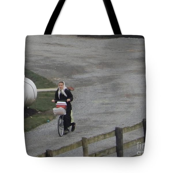 Heading Off To School Tote Bag
