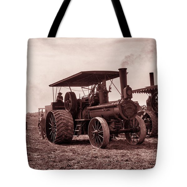 Heading Out Antiqued Tote Bag