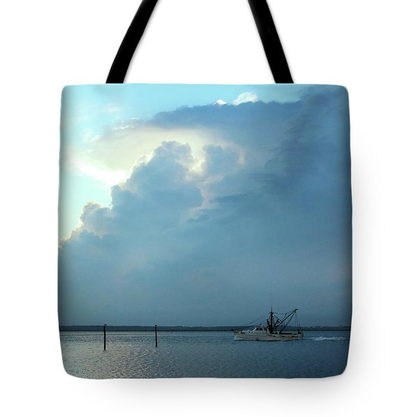 Heading Out Of The Storm Tote Bag