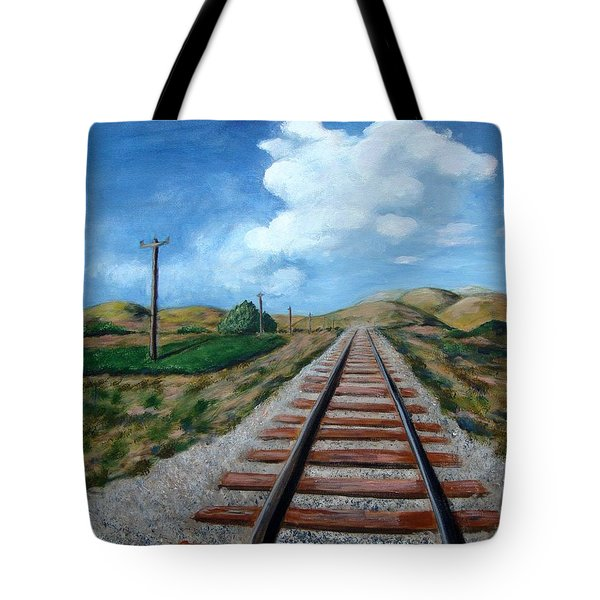 Heading West Tote Bag
