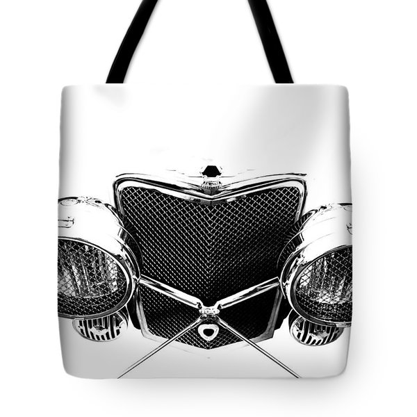 Tote Bag featuring the photograph Headlights by Stephen Mitchell