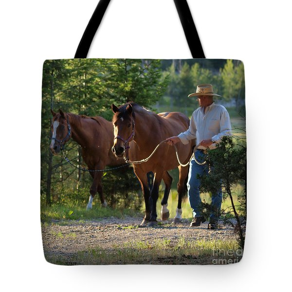 Headn' Home Tote Bag