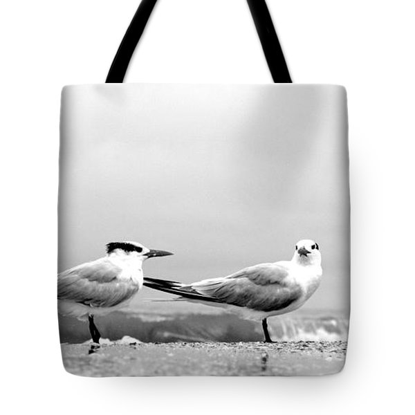 Heads Turned Tote Bag
