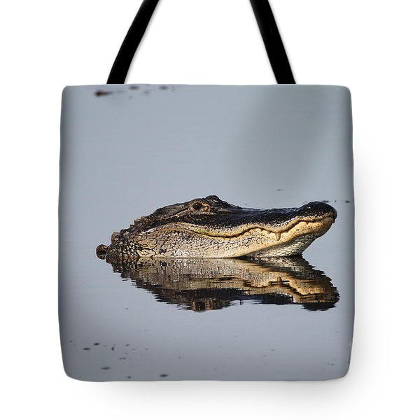 Tote Bag featuring the photograph Heads Up by Kathy Gibbons