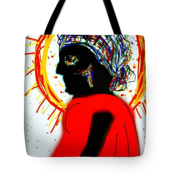 Headscarf Tote Bag