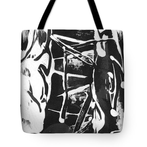 Tote Bag featuring the painting Healer by Carol Rashawnna Williams