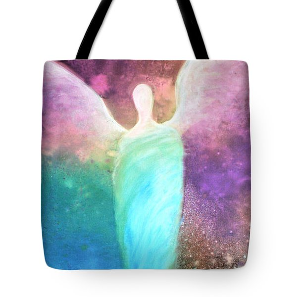 Healing Angels Tote Bag