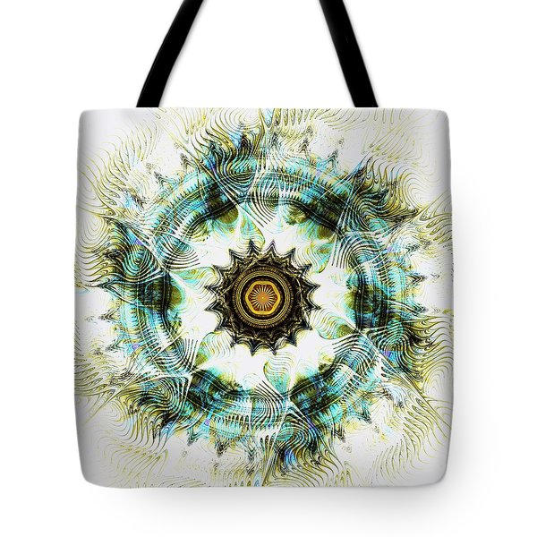 Tote Bag featuring the digital art Healing Energy by Anastasiya Malakhova