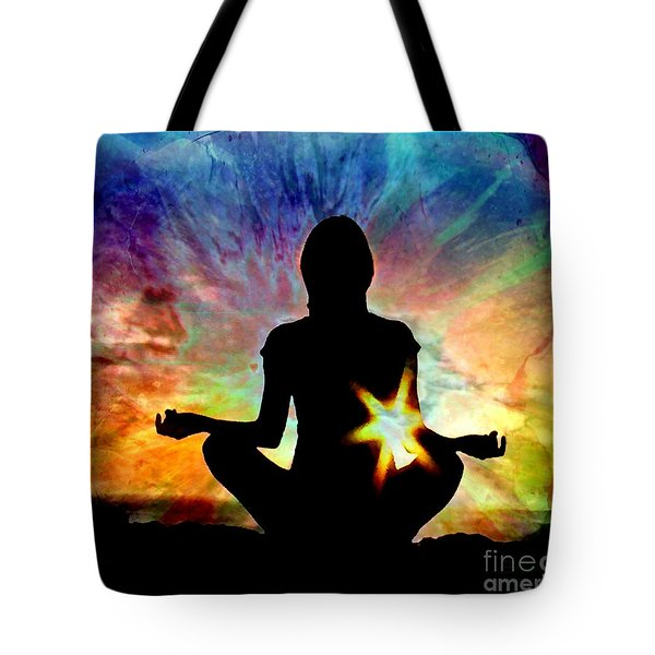 Healing Energy Tote Bag