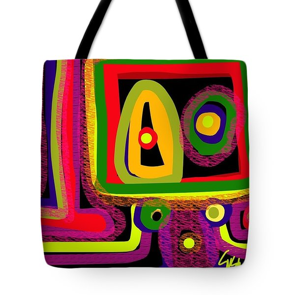 Healing Eyes Tote Bag