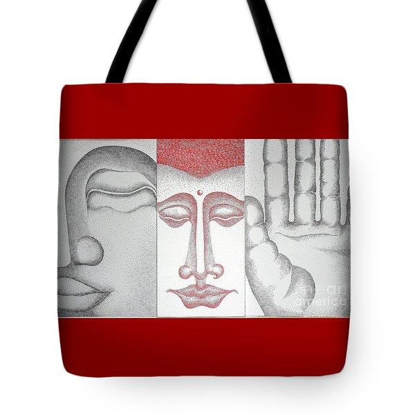 Healing Tote Bag by Fei A