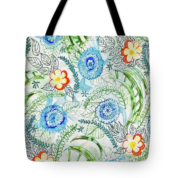Healing Garden Tote Bag