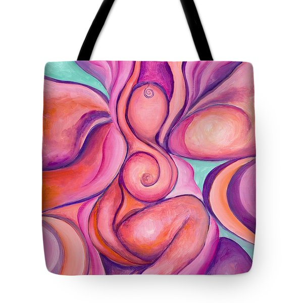 Healing Goddess Tote Bag