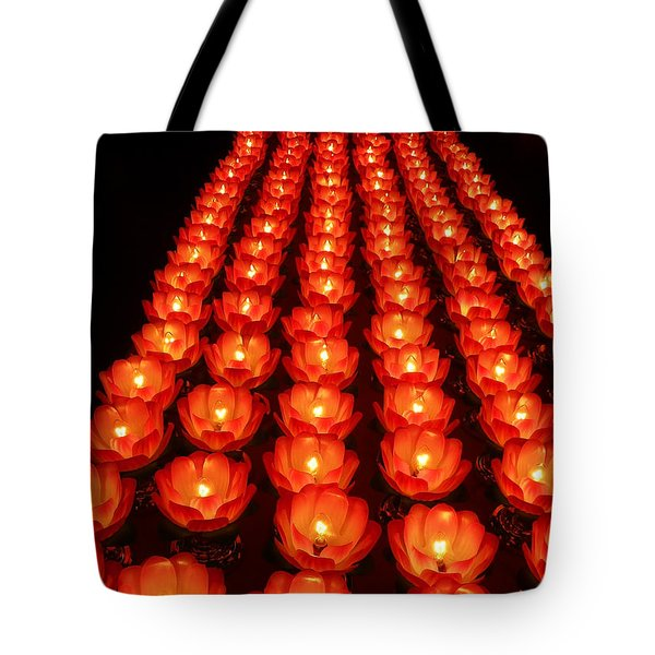 Healing Lights 1 Tote Bag