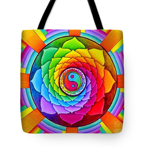 Healing Lotus Tote Bag