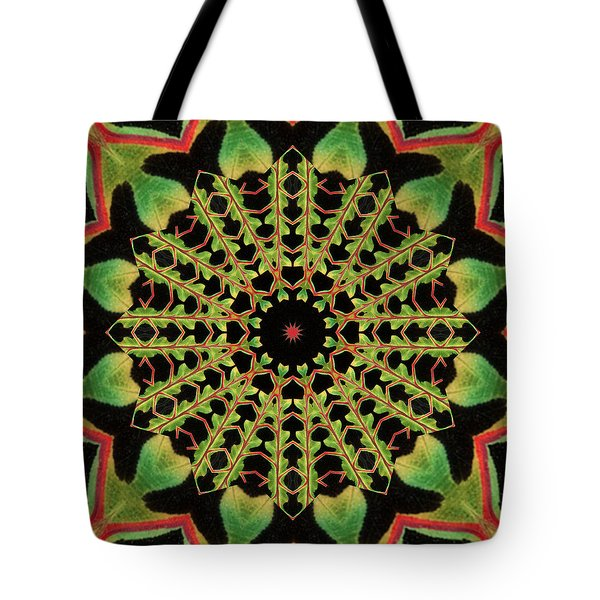 Tote Bag featuring the photograph Healing Mandala 13 by Bell And Todd