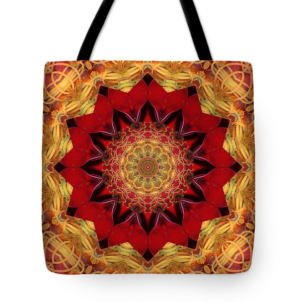 Tote Bag featuring the photograph Healing Mandala 28 by Bell And Todd