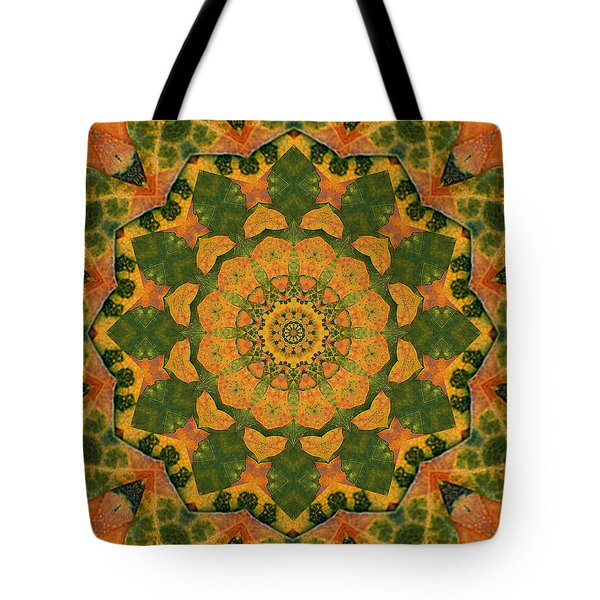 Tote Bag featuring the photograph Healing Mandala 9 by Bell And Todd