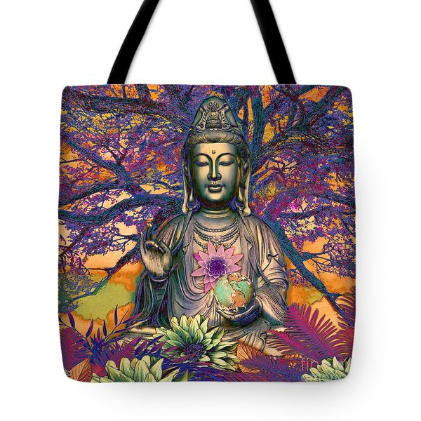 Healing Nature Tote Bag