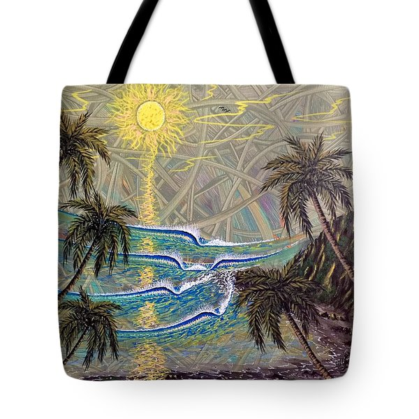 Healing Sunset Tote Bag